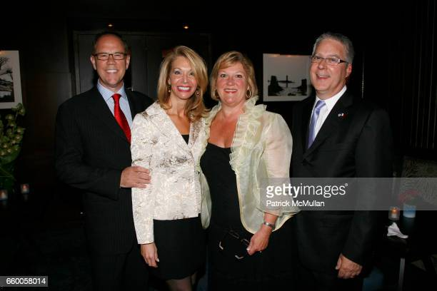 Gary Jaworski Susan Marshall Elizabeth Cornay and Dr W J Cornay attend The AMERICAN HOSPITAL of PARIS FOUNDATION'S 3rd Annual Celebration of Food...