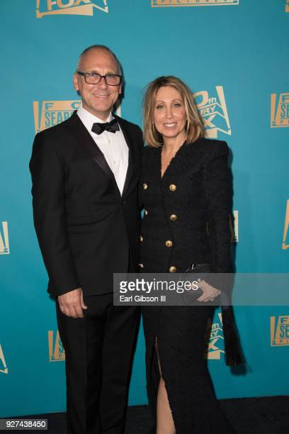 Gary Jones and Stacey Snider attend Fox Searchlight And 20th Century Fox Host Oscars PostParty on March 4 2018 in Los Angeles California