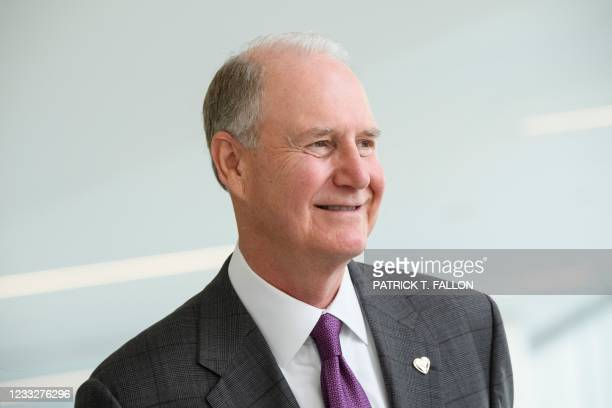 Gary Kelly, chief executive officer of Southwest Airlines Co., smiles during the opening of the Terminal 1 expansion at Los Angeles International...