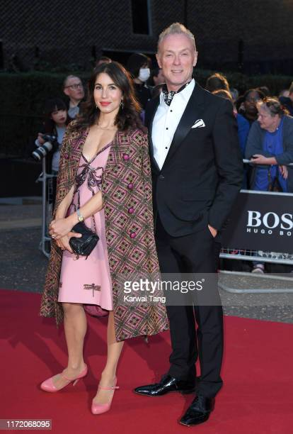 Gary Kemp and Lauren Barber attend the GQ Men Of The Year Awards 2019 at Tate Modern on September 03 2019 in London England