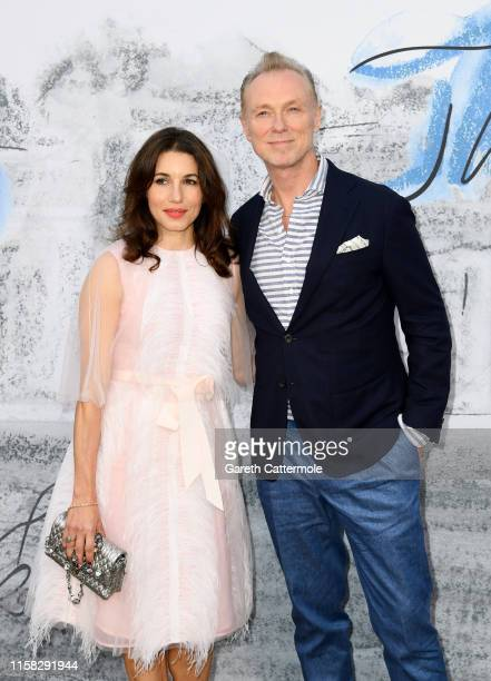 Gary Kemp and Lauren Barber attend The Summer Party 2019 Presented By Serpentine Galleries And Chanel at The Serpentine Gallery on June 25 2019 in...