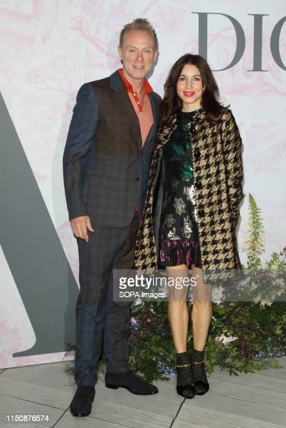 Gary Kemp and Lauren Kemp at The Victoria and Albert Museum Summer Party - in partnership with Dior - at the John Madejski Garden, Victoria and...