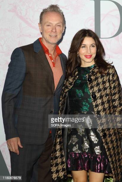 Gary Kemp and Lauren Kemp at The Victoria and Albert Museum Summer Party in partnership with Dior at the John Madejski Garden Victoria and Albert...