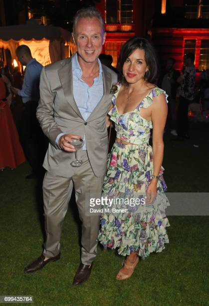 Gary Kemp and Lauren Kemp attend the 2017 annual VA Summer Party in partnership with Harrods at the Victoria and Albert Museum on June 21 2017 in...