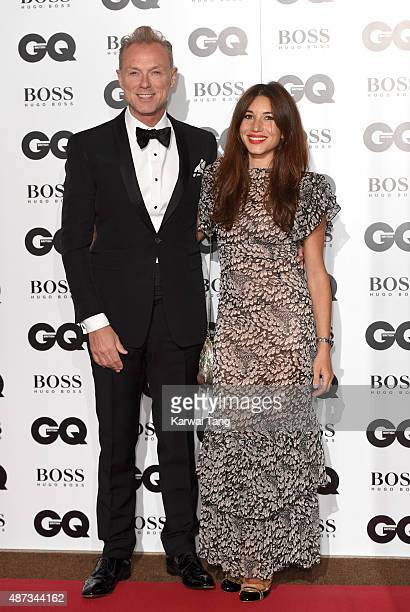Gary Kemp and Lauren Kemp attend the GQ Men Of The Year Awards at The Royal Opera House on September 8 2015 in London England