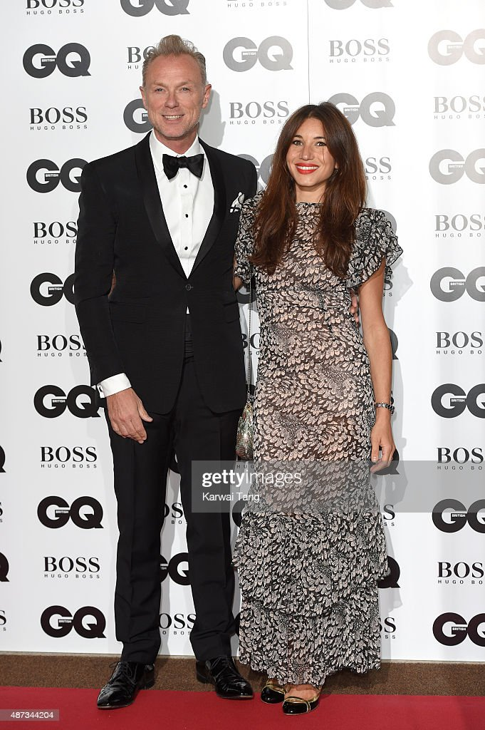 Gary Kemp and Lauren Kemp attend the GQ Men Of The Year Awards at The Royal Opera House on September 8, 2015 in London, England.