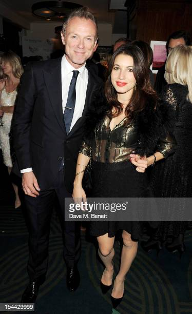 Gary Kemp and Lauren Kemp attend the launch of The Krasner Fund for the BFI at The Ivy on October 19 2012 in London England