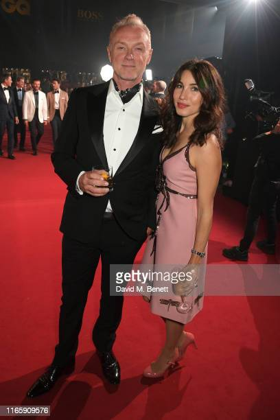 Gary Kemp and Lauren Kemp attend the the GQ Men Of The Year Awards 2019 in association with HUGO BOSS at the Tate Modern on September 3 2019 in...