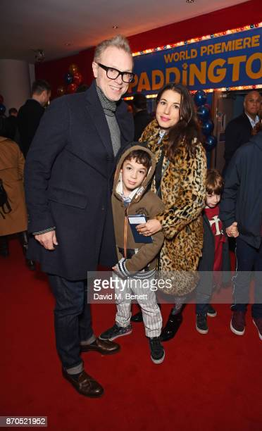 Gary Kemp and Lauren Kemp attend the World Premiere of 'Paddington 2' at Odeon Leicester Square on November 5 2017 in London England