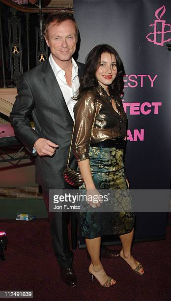 Gary Kemp and Lauren Kemp during Amnesty International Presents Secret Policeman's Ball Inside Arrivals at Royal Albert Hall in London Great Britain