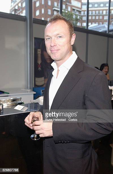 Gary Kemp at the Elspeth Gibson fashion show