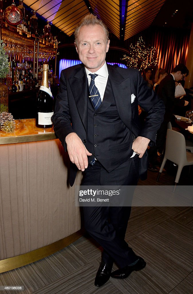 Gary Kemp attends the GQ Christmas Lunch at Quaglino's on December 9, 2014 in London, England.