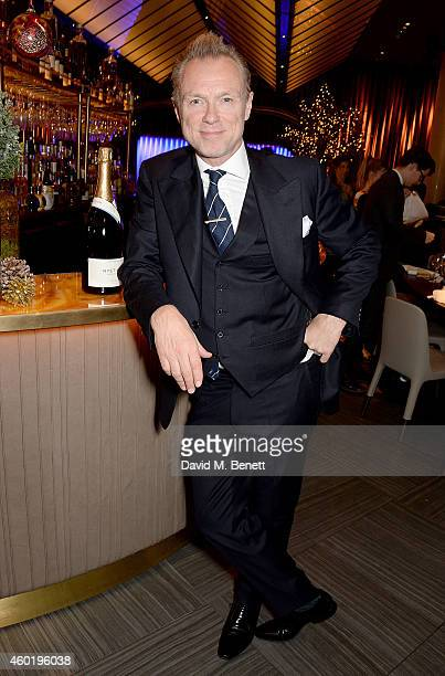 Gary Kemp attends the GQ Christmas Lunch at Quaglino's on December 9 2014 in London England