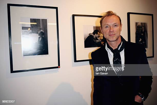 Gary Kemp attends the private view of Lorraine Goddard's exhibition 'Out Of Context' at Getty Images Gallery on January 21 2010 in London England
