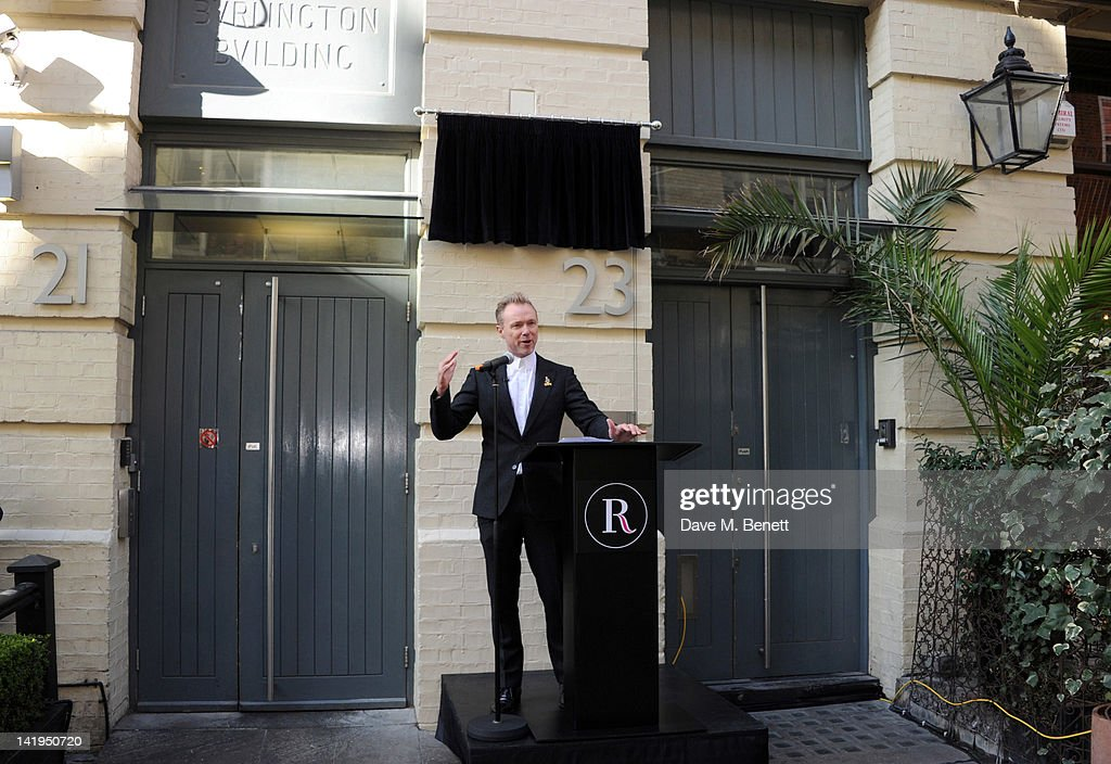 Gary Kemp attends the unveiling of a plaque dedicated to David Bowie's famous character Ziggy Stardust on March 27, 2012 in London, England. The plaque has been installed on Heddon Street, London, which was the location of the album cover photograph for 'The Rise and Fall of Ziggy Stardust and the Spiders from Mars'.
