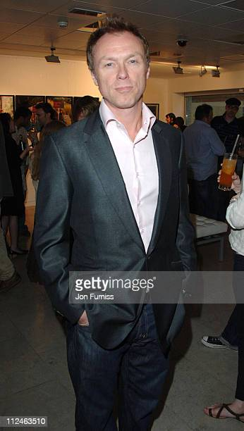 Gary Kemp during Protect the Human Private View May 31 2006 at The Hospital in London Great Britain
