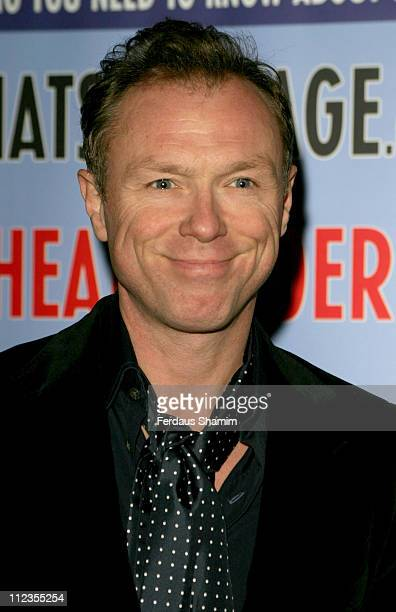 Gary Kemp during Theatregoers' Choice Awards 2006 at Planet Hollywood in London Great Britain