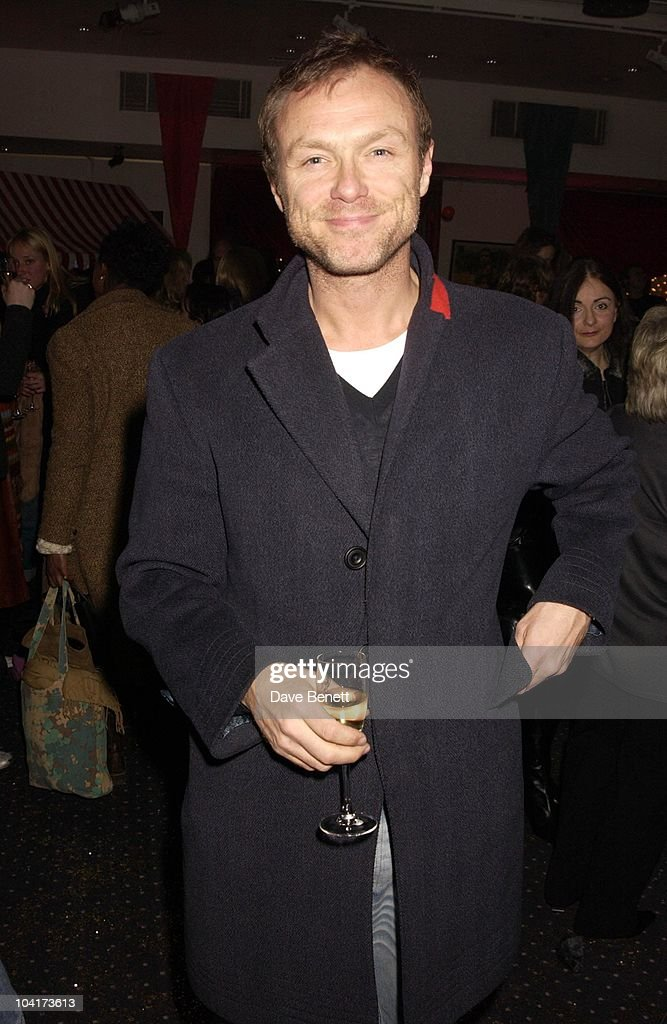 Gary Kemp, Frost French Fashion Tea Party At Bafta Cinema In Picadilly,turned The Normal Fashion Show On Its Head As The Audience Was Treated To A Film Of The Designers New Collection, London Fashion Week 2003