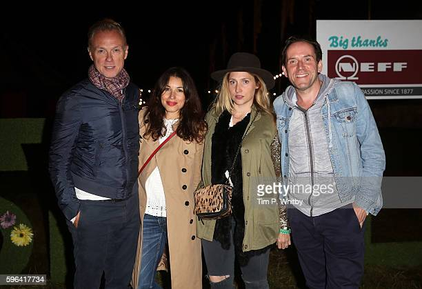 Gary Kemp Lauren Barber Jessica Parker and Ben Miller attend day two of The Big Feastival at Alex James' Farm on August 27 2016 in Kingham Oxfordshire
