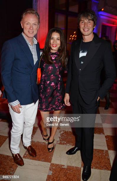Gary Kemp Lauren Kemp and Brian Cox attend a party to celebrate Nefer Suvio's birthday hosted by The Count and Countess Francesco Chiara Dona Dalle...