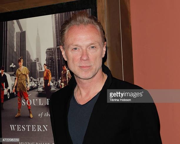 Gary Kemp of Spandau Ballet attends the premiere of 'Soul Boys of the Western World Spandau Ballet' at Sundance Cinema on May 4 2015 in Los Angeles...
