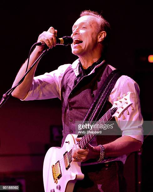 Gary Kemp of Spandau Ballet performs live on stage at BBC Broadcasting House on November 17 2009 in London England