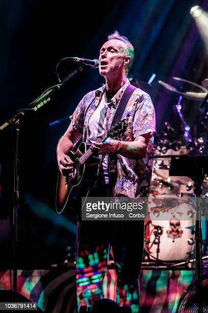 Gary Kemp of Spandau Ballet performs on stage for superband Nick Masons Saucerful Of Secrets at Teatro degli Arcimboldi on September 20 2018 in Milan...