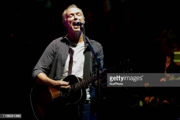 Gary Kemp performs live on stage with Nick Masonss Saucerful of Secrets during the Rock in Roma at Auditorium Parco della Musica on July 17 2019 in...