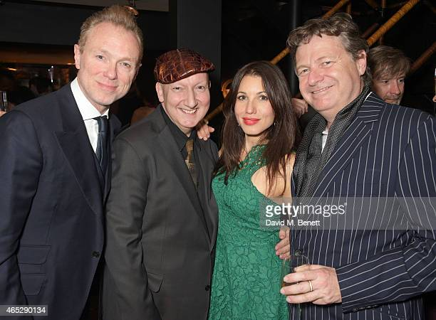 Gary Kemp Stephen Jones Lauren Kemp and Danny Moynihan attend Anthony Price's 70th birthday party hosted by Nick Rhodes at Blakes Hotel on March 5...