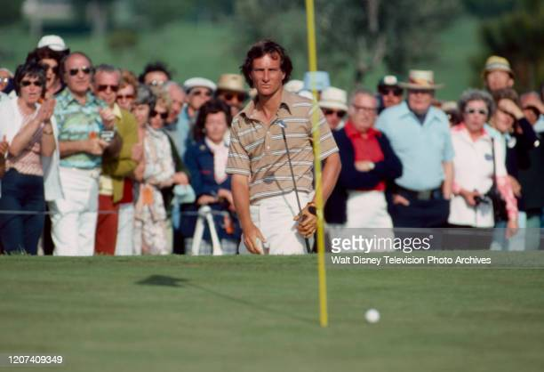 Gary Koch competing in the 1977 PGA Tournament of Champions ABC Sports coverage