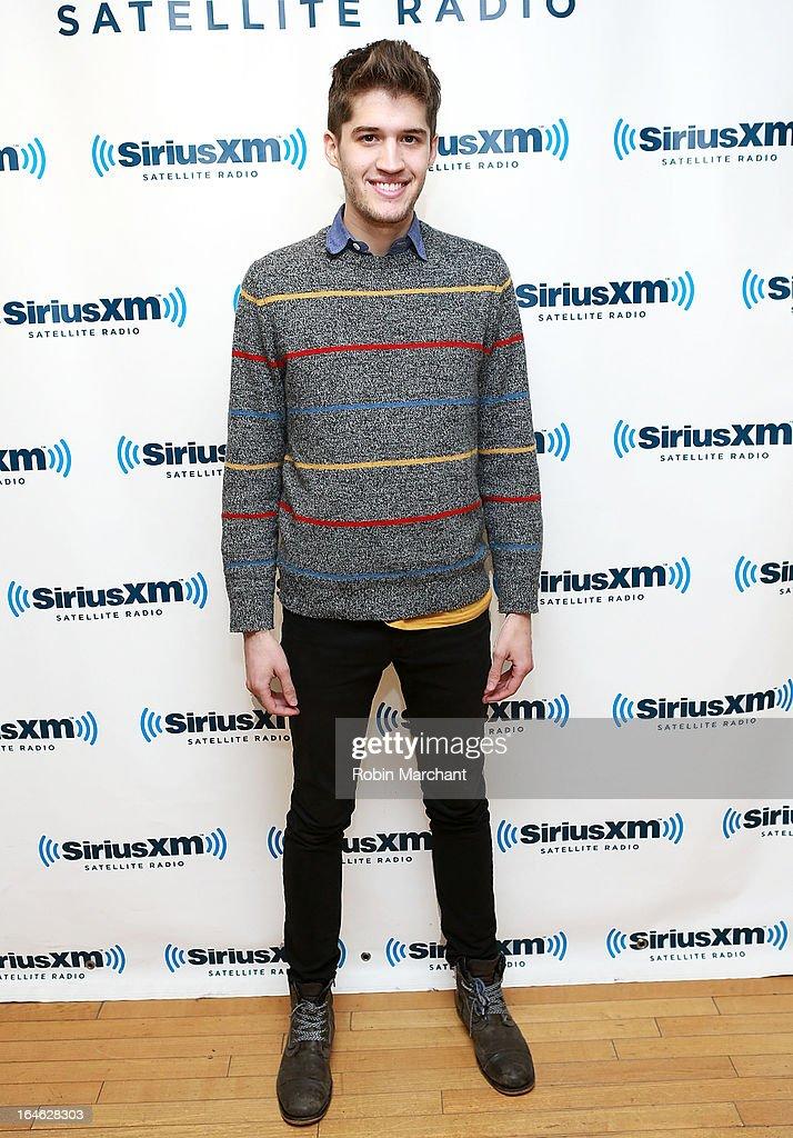 Gary Larsen of Royal Teeth visits at SiriusXM Studios on March 25, 2013 in New York City.