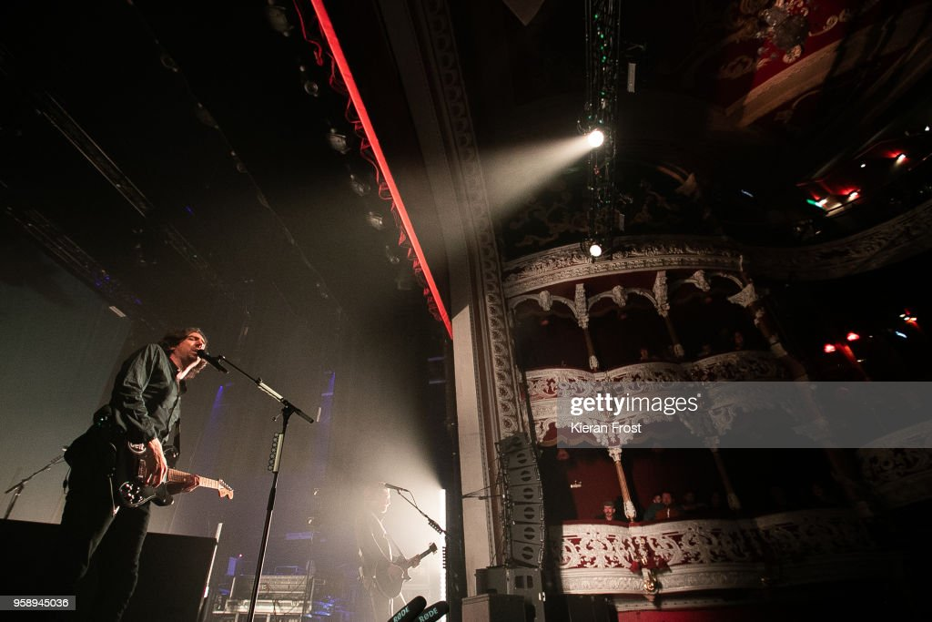 Snow Patrol Perform At The Olympia Theatre Dublin