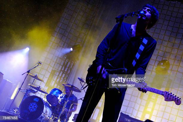 Gary Lightbody and Snow Patrol perform in support the bands Eyes Open release at the Bill Graham Civic Auditorium on March 1 2007 in San Francisco...