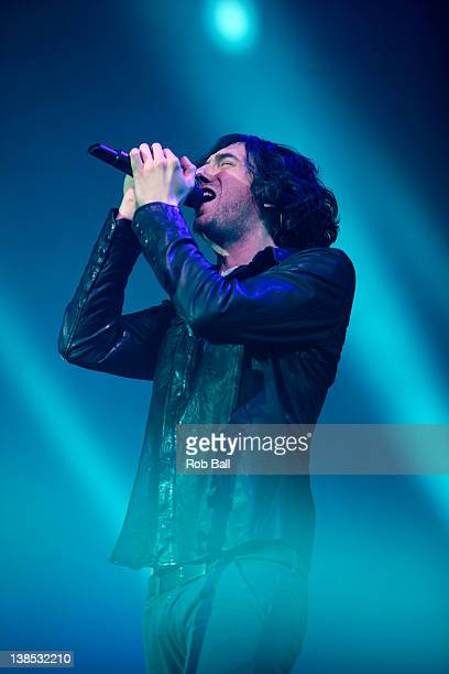 Gary Lightbody from Snow Patrol performs at the BIC on February 8 2012 in Bournemouth England