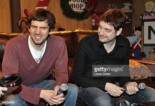 Gary Lightbody of Snow Patrol appears backstage on Day 2 of KROQ's Almost Acoustic Xmas at the Gibson Amphitheater on December 14, 2008 in Universal...