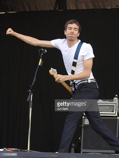 Gary Lightbody of Snow Patrol during Fuji Rock Festival '06 Day 3 Snow Patrol at Naeba Ski Resort in Yuzawa Japan
