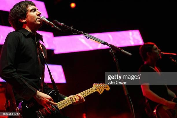 Gary Lightbody of Snow Patrol during KROQ Almost Acoustic Christmas 2006 - Night 2 - Show at Gibson Amphitheater in Universal City, California,...