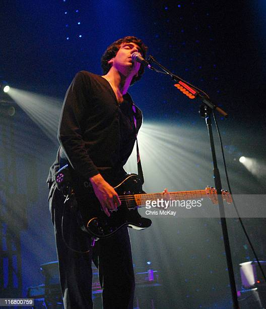 Gary Lightbody of Snow Patrol during Snow Patrol Concert at The Arena At Gwinnett In Georgia at The Arena At Gwinnett in Duluth GA United States