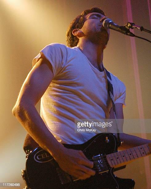 Gary Lightbody of Snow Patrol during Snow Patrol in Concert - September 6, 2006 in Atlanta, Georgia, United States.