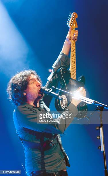 Gary Lightbody of Snow Patrol performing at BIC Bournemouth on January 27, 2019 in Bournemouth, England.