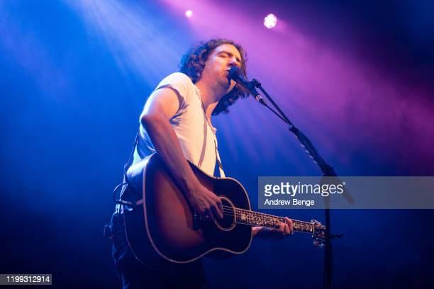 Gary Lightbody of Snow Patrol performs at O2 Academy Leeds on January 13, 2020 in Leeds, England.