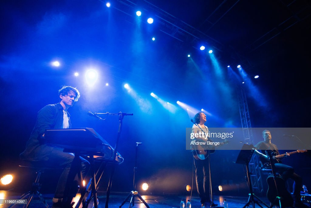 Snow Patrol Perform At O2 Academy Leeds : Nyhetsfoto