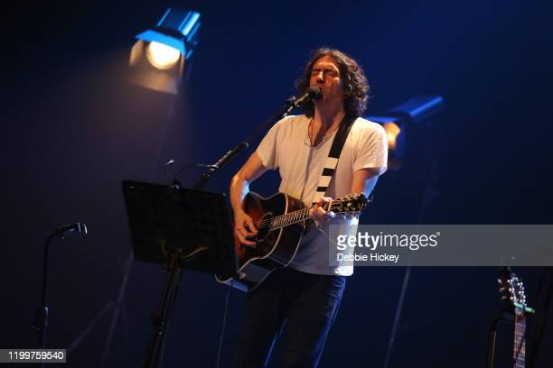 Gary Lightbody of Snow Patrol performs at Olympia Theatre on January 15, 2020 in Dublin, Ireland.