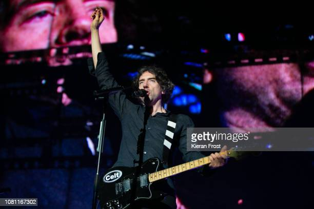 Gary Lightbody of Snow Patrol performs at the 3Arena Dublin on December 11 2018 in Dublin Ireland