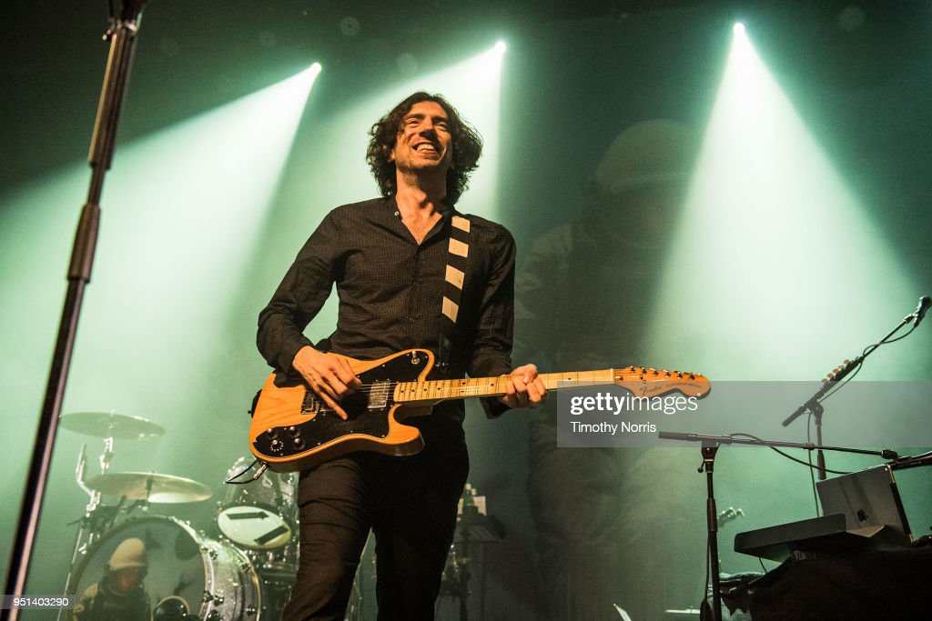 Snow Patrol Performs At The Fonda Theatre