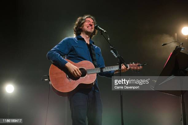 Gary Lightbody of Snow Patrol performs during the NI Music Awards at Ulster Hall on November 07, 2019 in Belfast, Northern Ireland.