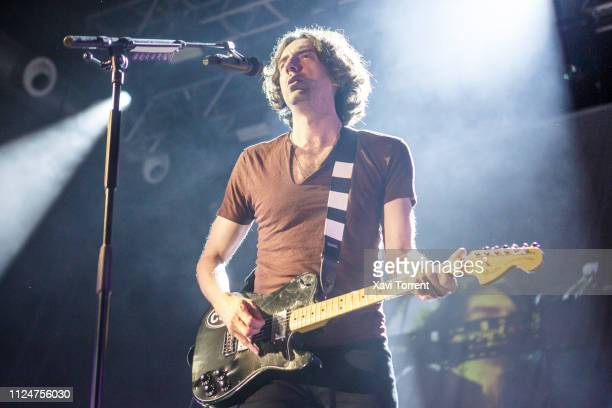 Gary Lightbody of Snow Patrol performs in concert at Razzmatazz on February 13, 2019 in Barcelona, Spain.