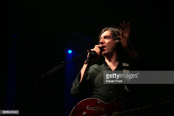 Gary Lightbody of Snow Patrol performs live at the Olympia Theatre on May 15, 2018 in Dublin, Ireland.