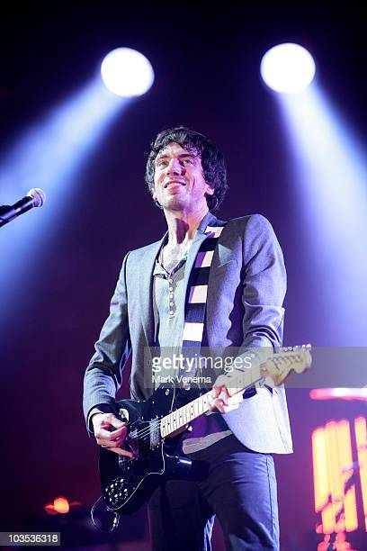 Gary Lightbody of Snow Patrol performs on day two of the Lowlands Festival 2010 on August 21 2010 in Biddinghuizen Netherlands