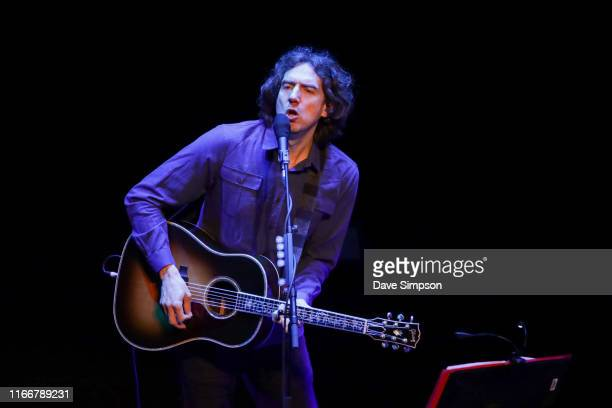 Gary Lightbody of Snow Patrol performs on stage at ASB Theatre, Aotea Centre on August 08, 2019 in Auckland, New Zealand.